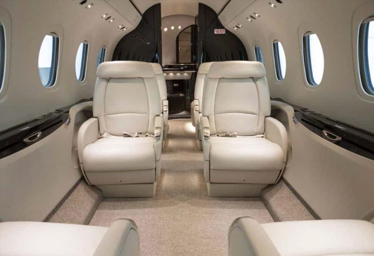 lightjet interior