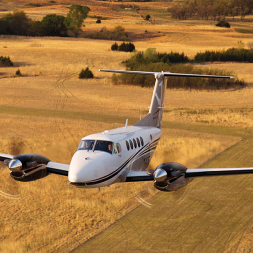 King Air 250 Charters